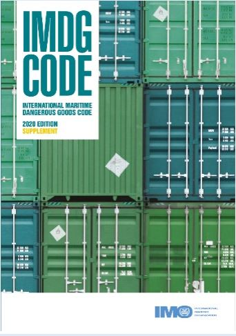 Supplement to the IMDG Code Amendment 40-20 Book - PRE-ORDER