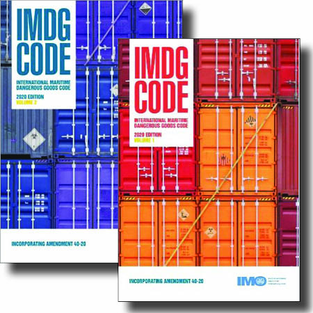 IMDG Code Amendment 40-20 Book Set (Vol. I & II) - PRE-ORDER